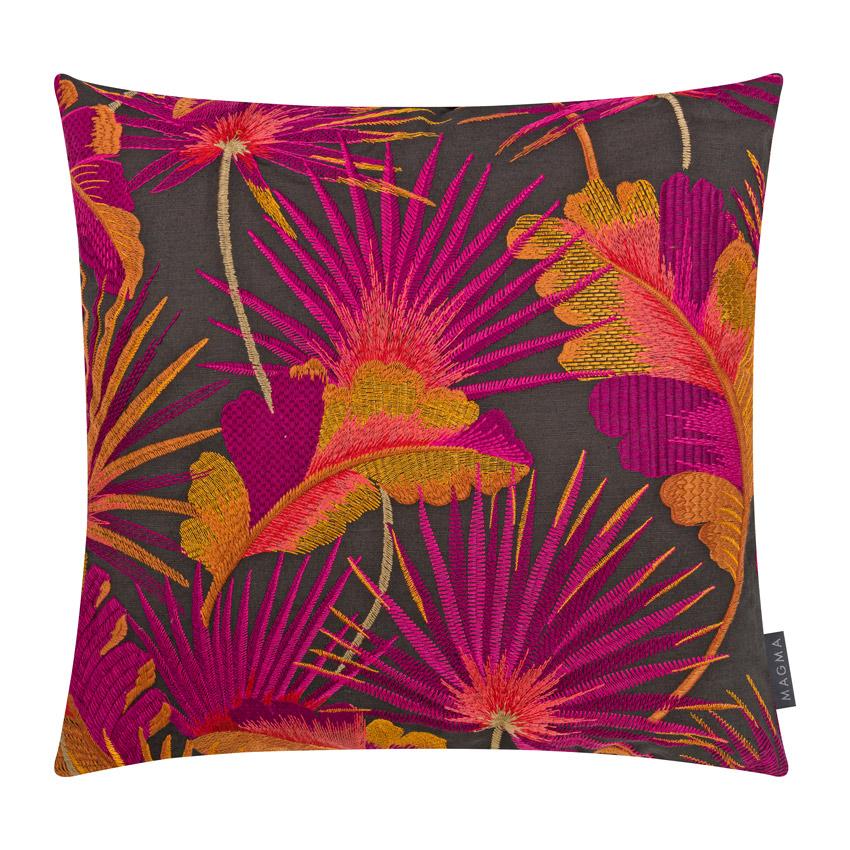 """Sofakissen """"Sumatra"""" pink  50 cm x 50 cm"""
