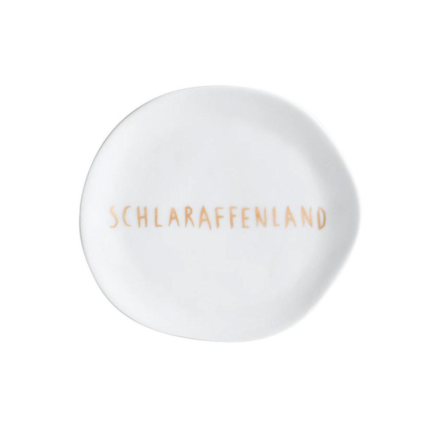 """kleiner Teller """"Schlaraffenland"""" - Serie Mix & Match von Räder - Design Stories"""