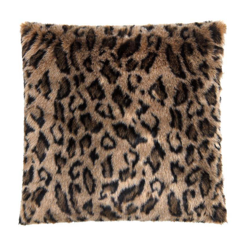 "Sofakissen ""Skins""  Leopard  50cm x 50 cm"
