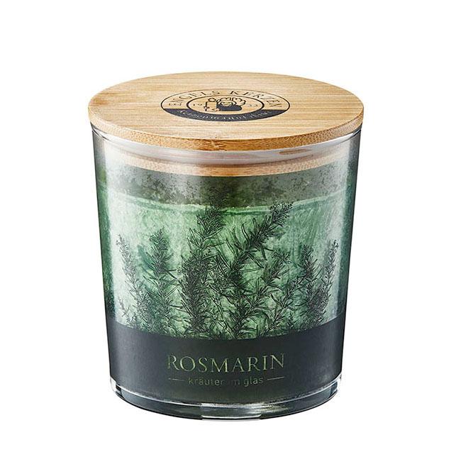 Engels Duftkerze Kräuter im Glas - Rosmarin