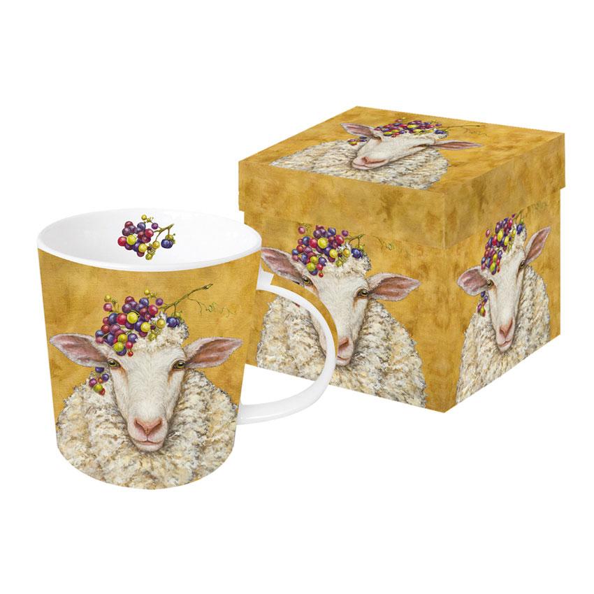 Vineyard Sheep - die große Porzellantasse von PPD