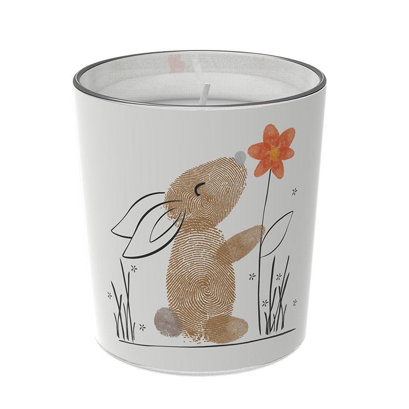 """Osterkerzen Glas Rita - """"der Genießende"""" - von Engels Kerzen"""