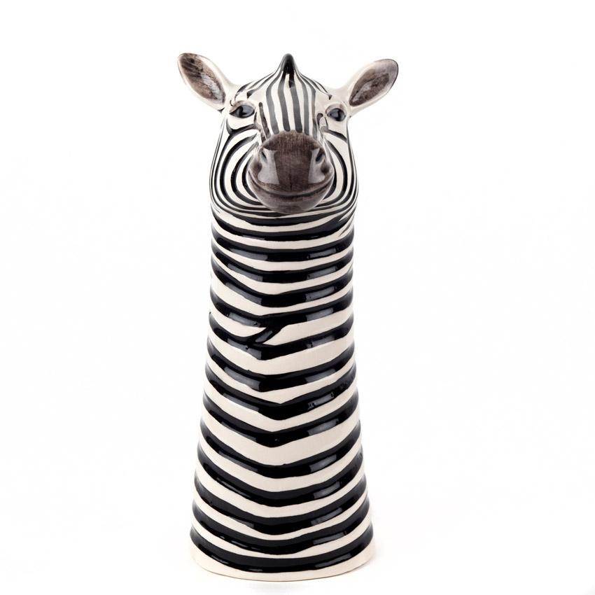Quail Ceramics - die große Zebra Blumenvase