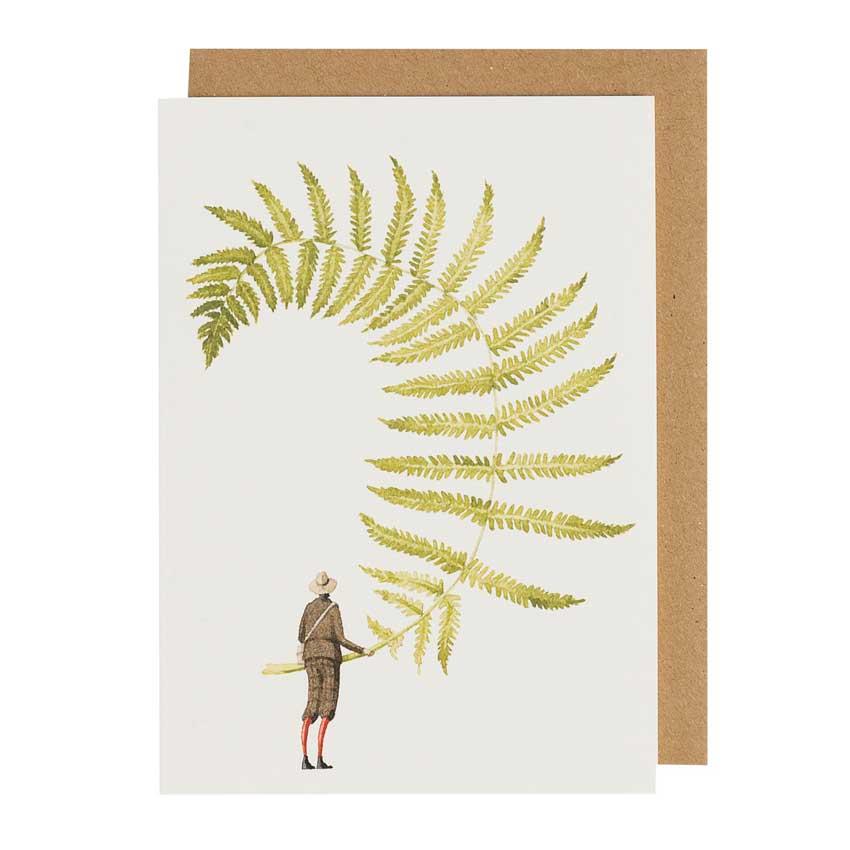 """Grußkarte """"FERN 5"""" von Laura Stoddart"""