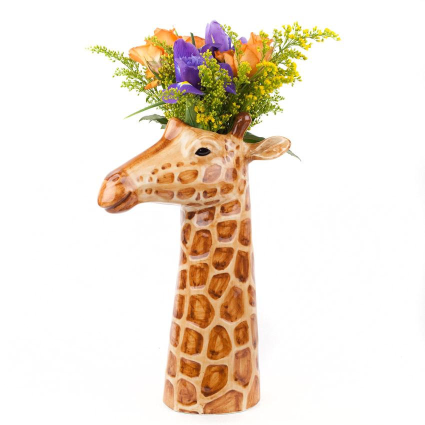 Quail Ceramics - die große Giraffe Blumenvase