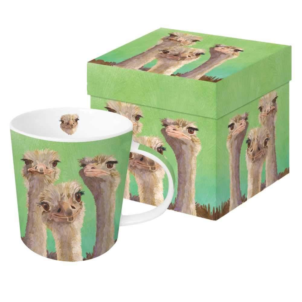 Ostrich Amigos - Trend Mug & Geschenkebox von PPD