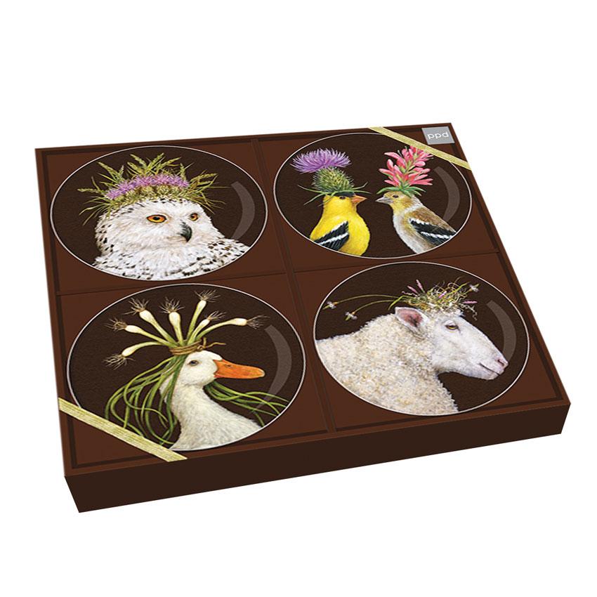 """""""Wild & Wooly"""" Trend Plate Set - Porzellantellerset von PPD"""