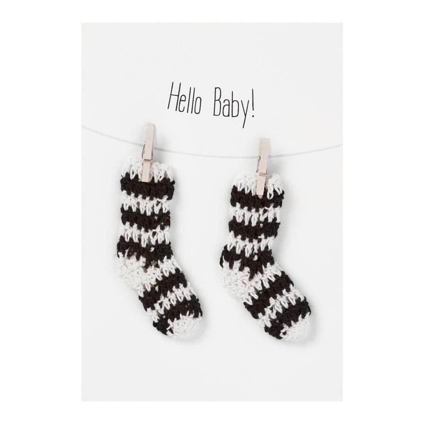 """Baby Welcome Card """"Hello Bay"""" - Papeterie von Räder"""