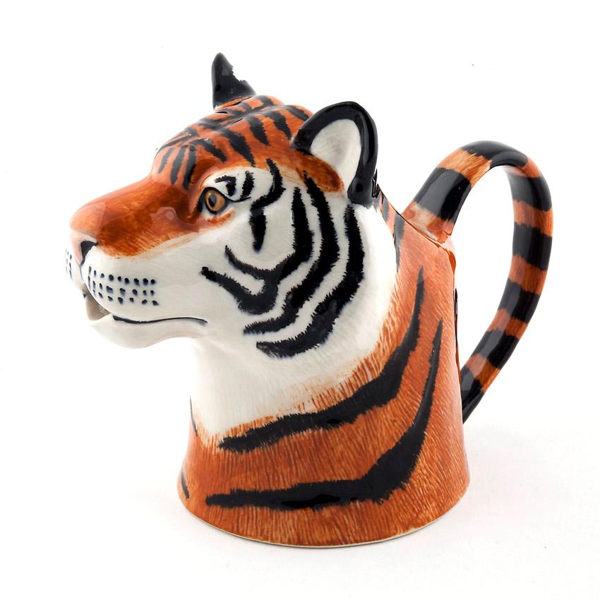 Quail Ceramics Jug - das große Tiger - Kännchen