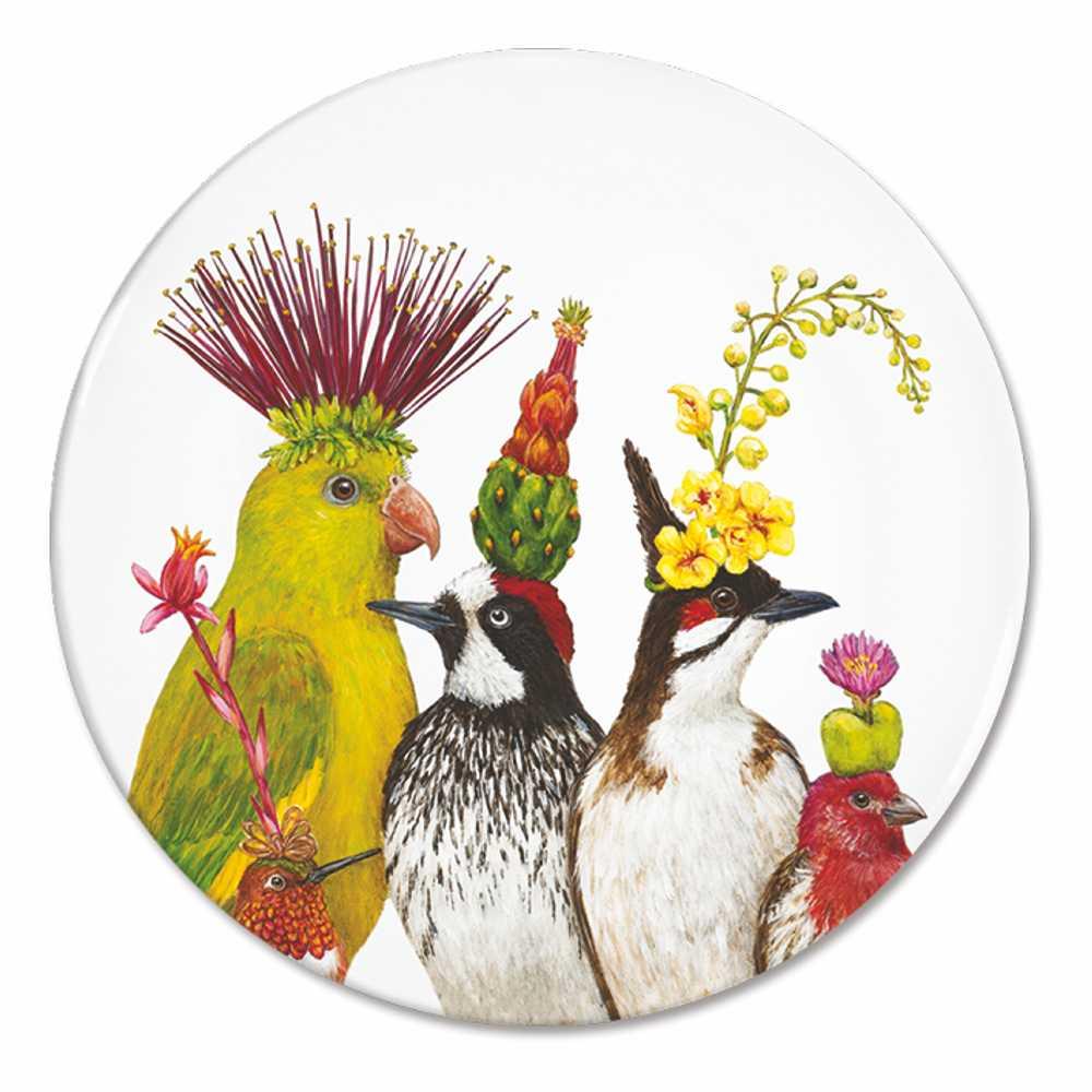 """""""The Entourage"""" / Appetizer Plate, Teller aus Porzellan, von PPD"""