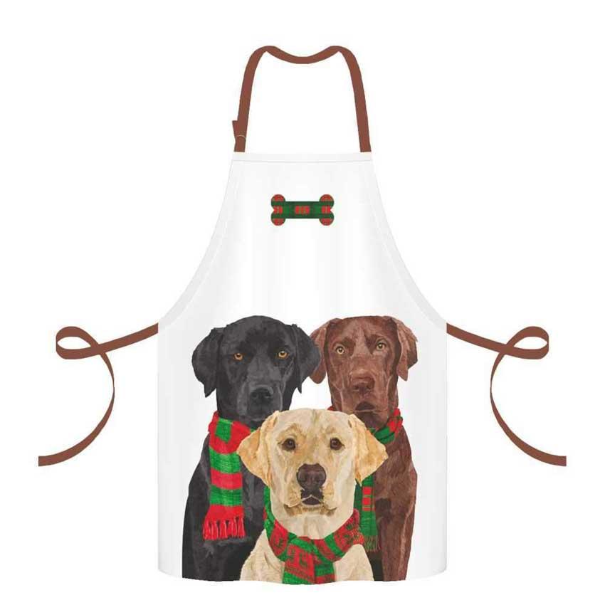 """""""Merry Labradors"""" - Schürze von Paperproducts Design"""