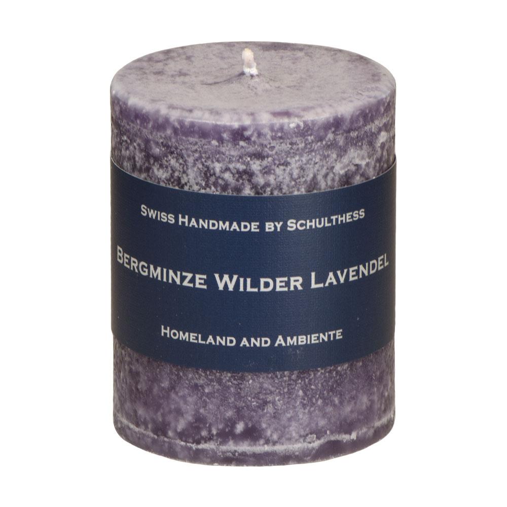 Schulthess Duftkerze Bergminze - wilder Lavendel