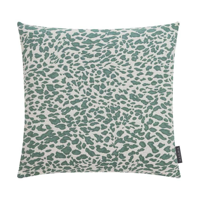 """Sofakissen """"Leopardo"""" jade -  50 cm x 50 cm"""