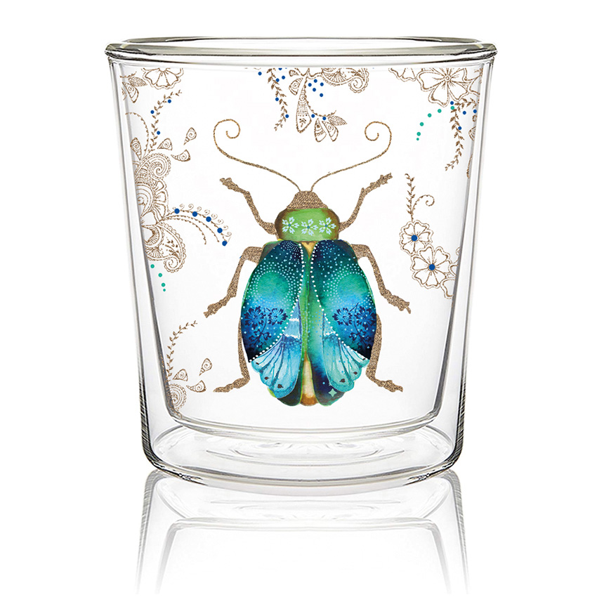 """""""Scarab"""" - Double wall Trend Glas von PPD"""