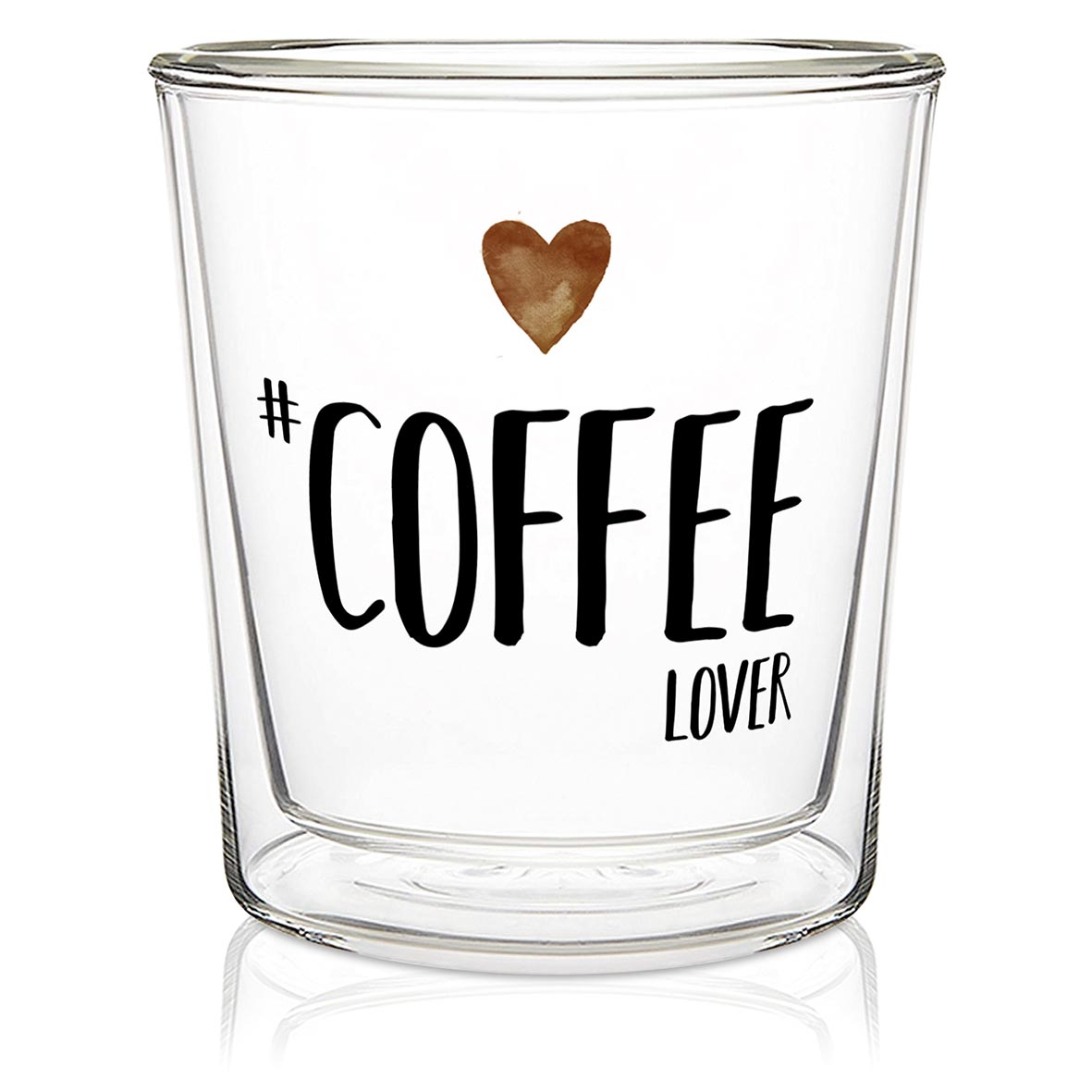 Coffee Lover - Double wall Trend Glas von PPD