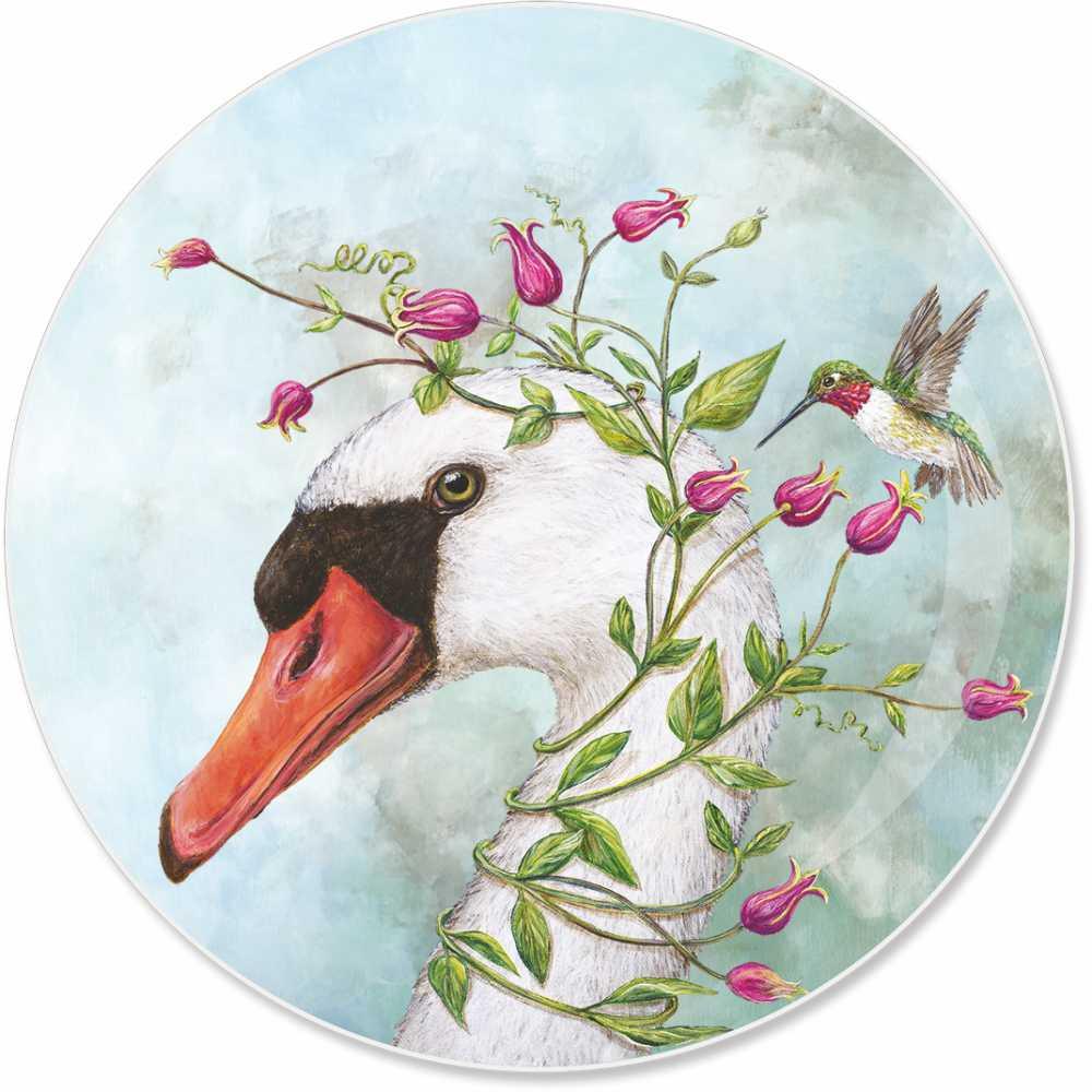 """""""Iris & Stanley"""" / Appetizer Plate, Teller aus Porzellan, von PPD"""