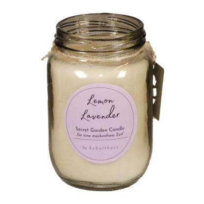 Antimücken - Duftkerze Lemon & Lavender von Schulthess Kerzen