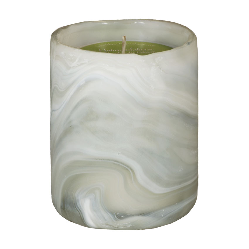 Marble Pot weiss Citrus Relax - von Schulthess Kerzen