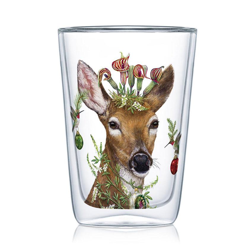 Christmas Princess - Latte Macchiato Glas von PPD
