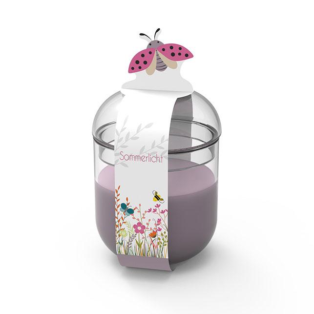 Engels Sommerlicht Marienkäfer - Farbe Anemone