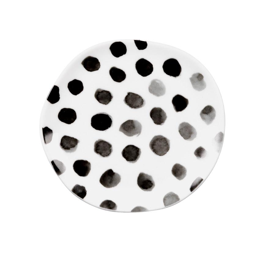 """kleiner Teller """"black dots"""" - Serie Mix & Match von Räder - Design Stories"""