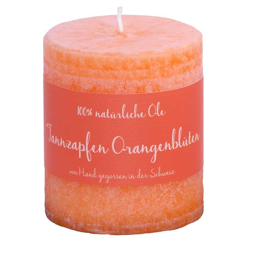 Tannzapfen / Orangenblüten - Schulthess Duftkerze mit 100% natürlichen Ölen