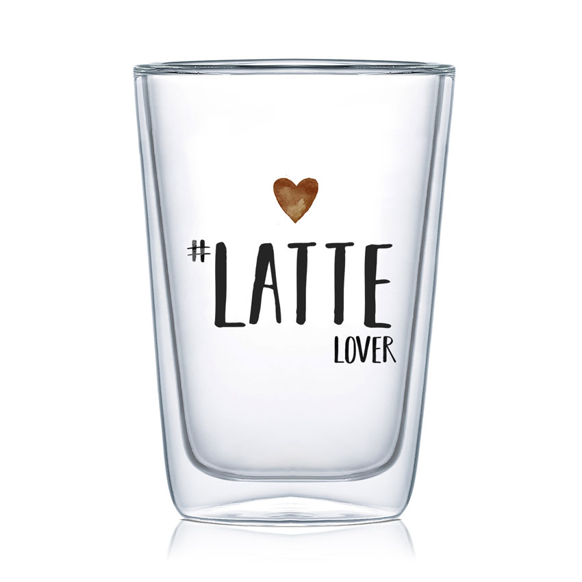 Latte Lover - Latte Macchiato Glas von PPD