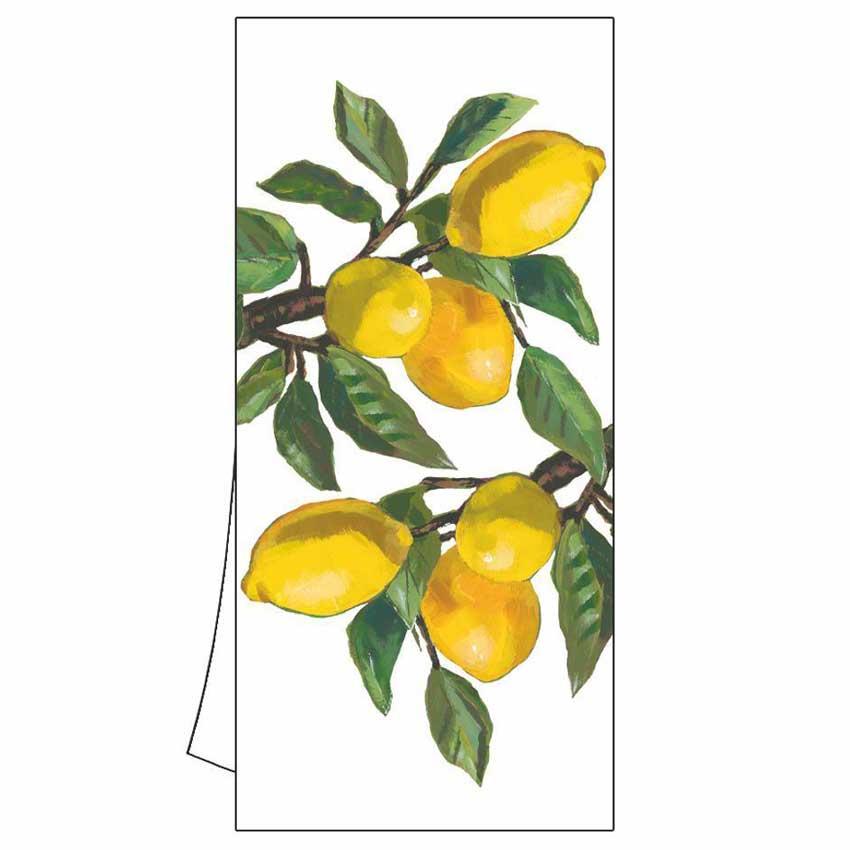 """Geschirrtuch """"Lemon Museé"""" von Paperproducts Design"""