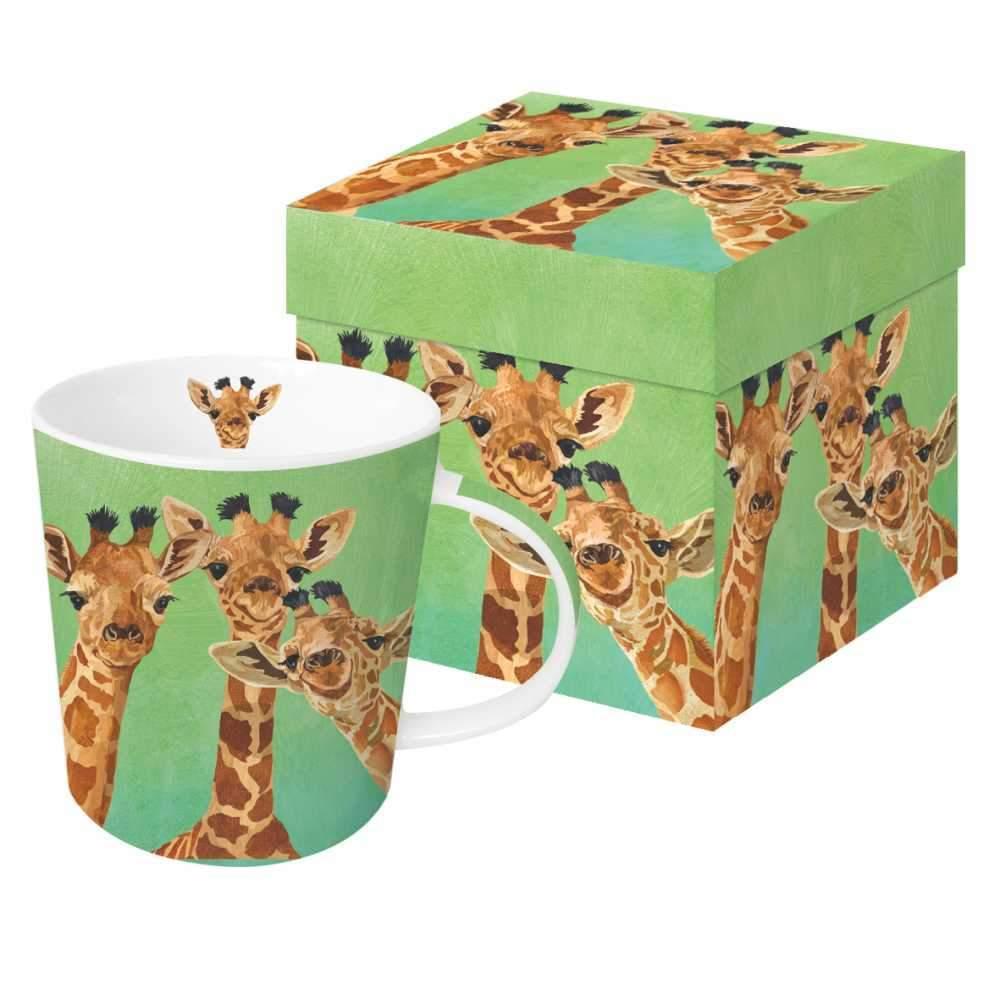 Giraffe Amigos - Trend Mug & Geschenkebox von PPD