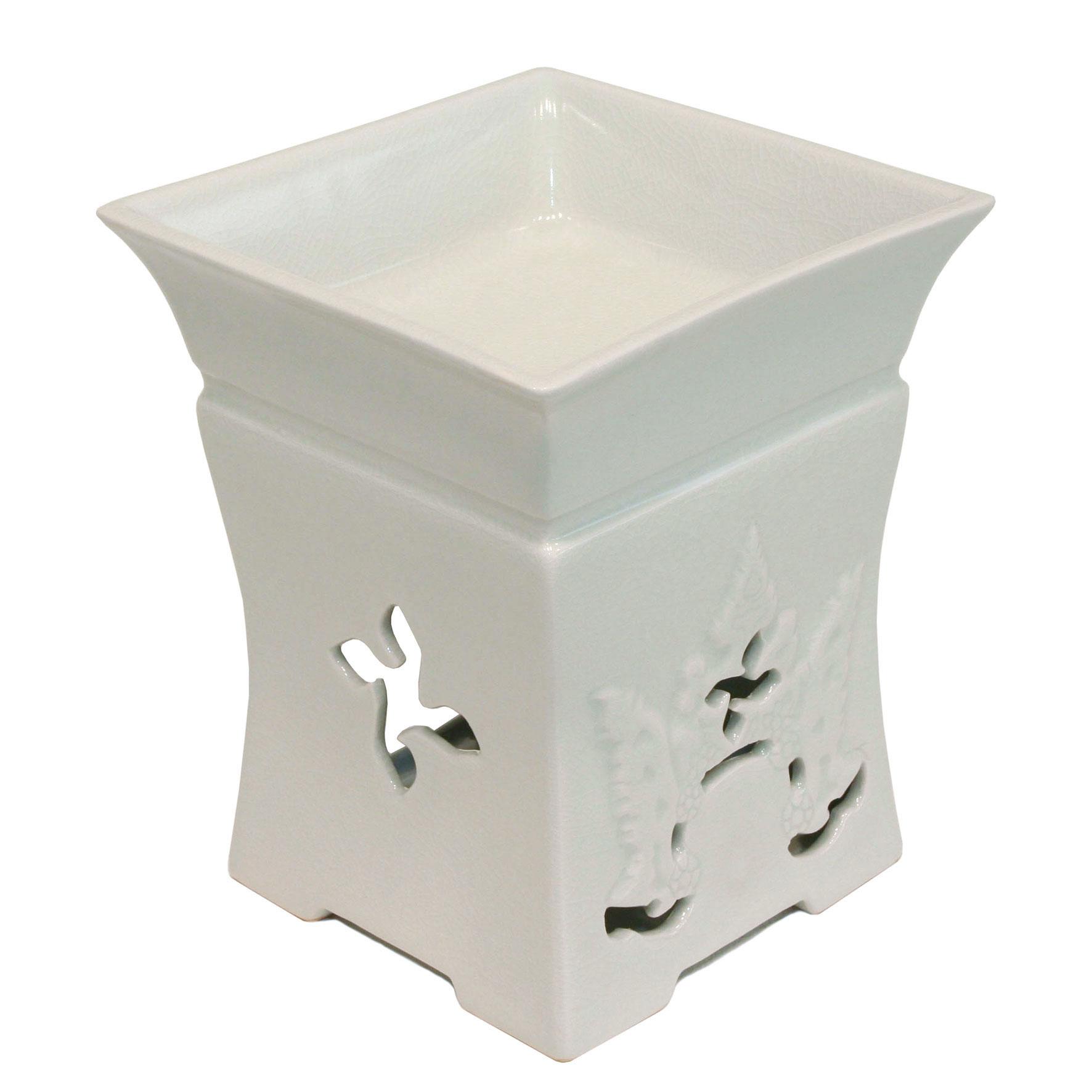 """Aromaöl Lampe, Modell Oriental """"weiss"""""""