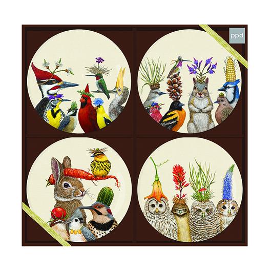 "Trend Plate Set ""Forest Festivities"" - Porzellantellerset von PPD"