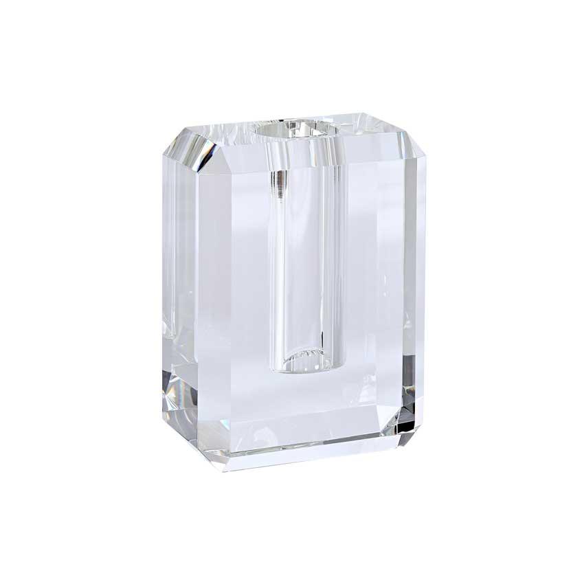 Dioptrics Kristallglas Vase - Transparent S - von der Gift Company Kopie