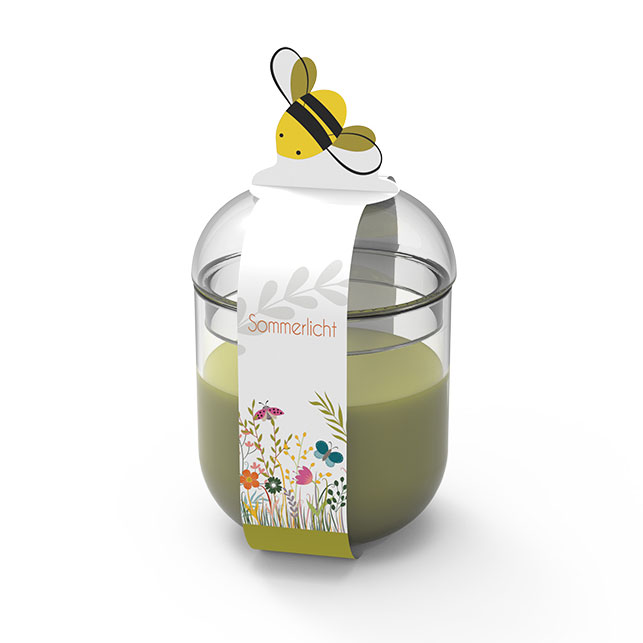 Engels Sommerlicht Biene - Farbe Farn