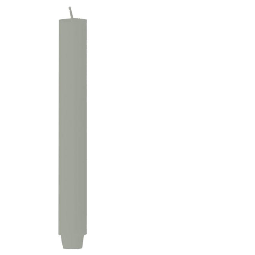 Farbe Stahl / Engels ORIGINAL - Stabkerze gegossen