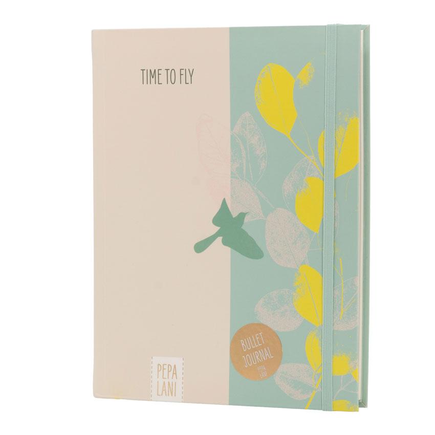 """Bullet Journal """"Green Bird"""", Format DIN A5 von Pepa Lani®"""