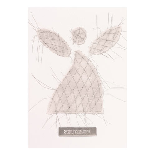 """Herzfaden Karte """"Schutzengel"""" - Papeterie von Räder"""