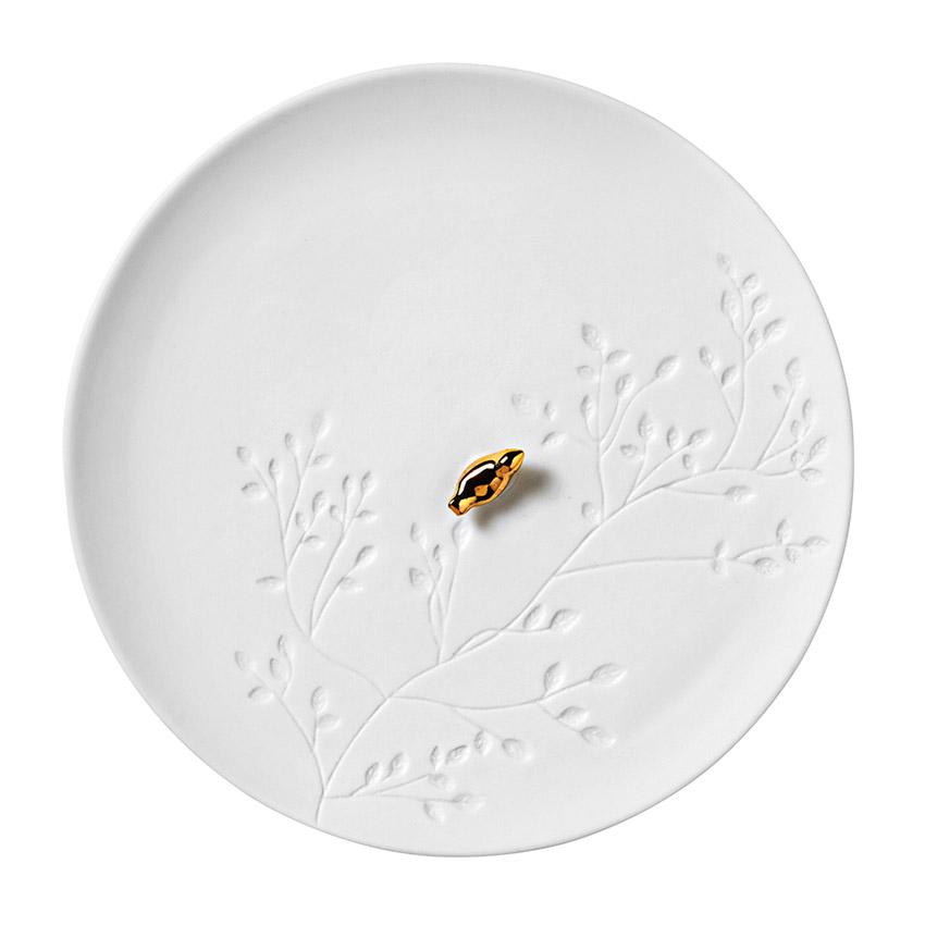 Porzellangeschichten mit Vögelchen - Teller von Räder