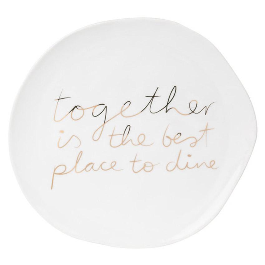 """Teller """"Together is..."""" - Serie Mix & Match von Räder - Design Stories"""