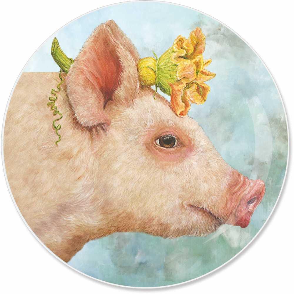 """""""Blossom"""" / Appetizer Plate, Teller aus Porzellan, von PPD"""