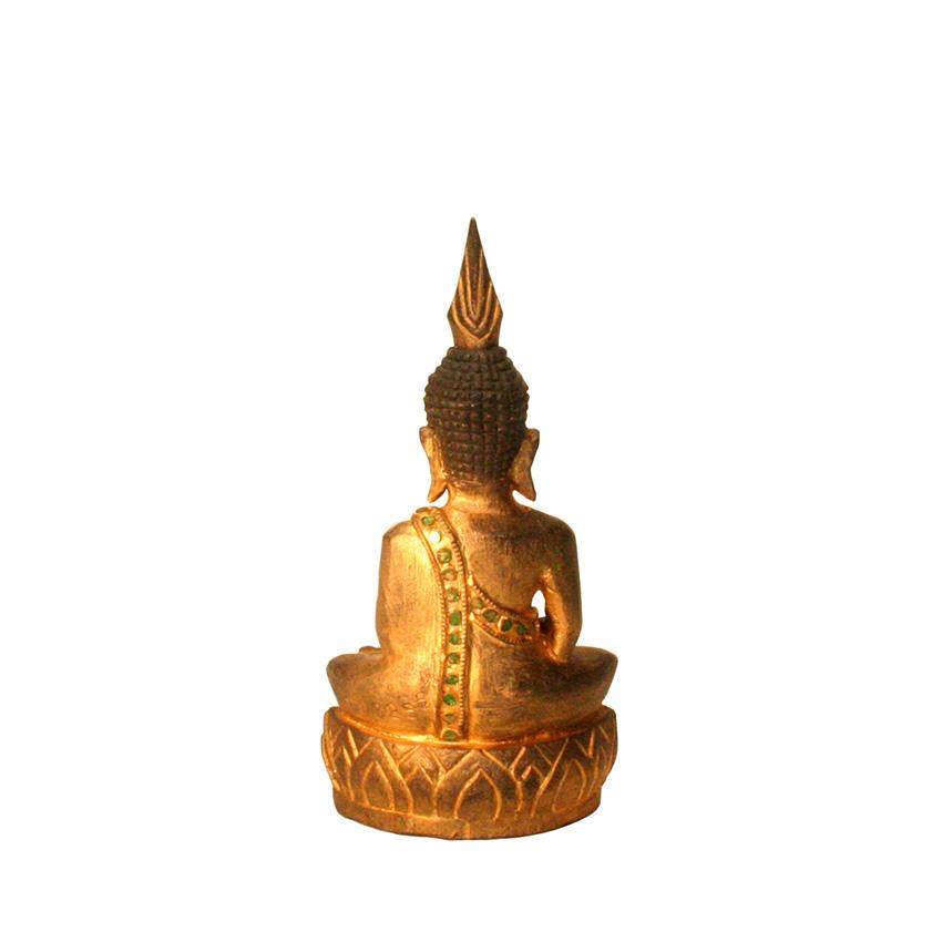 Kleiner sitzender Buddha im Sukhothai Stil