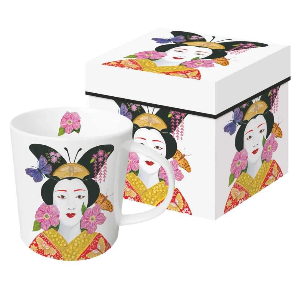 Madame Butterfly - Trend Mug & Geschenkebox von PPD