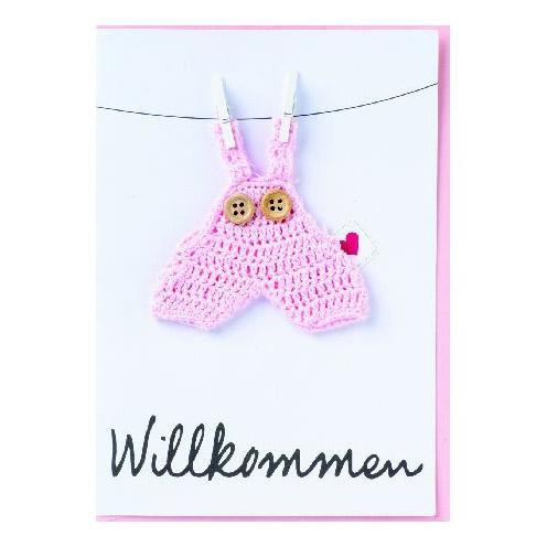 """Baby Welcome Card """"Willkommen"""" - Papeterie von Räder"""