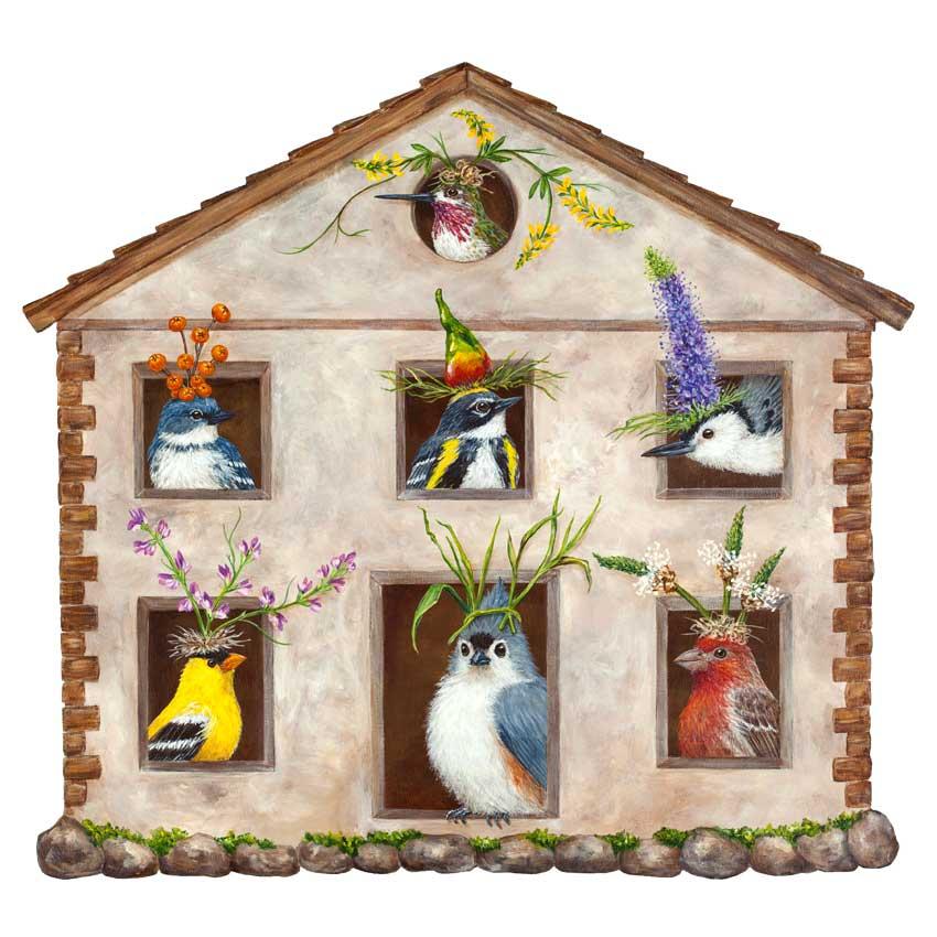 "Die Cut Placemats - Papier Tischsets ""HOUSE PARTY"" von Hester & Cook"