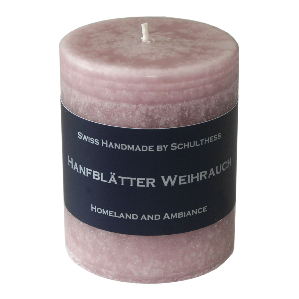 Schulthess Duftkerze Hanfblätter - Weihrauch