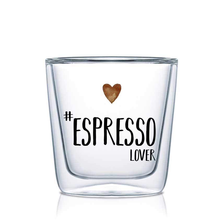 Espresso Lover - Double wall Trend Glas von PPD