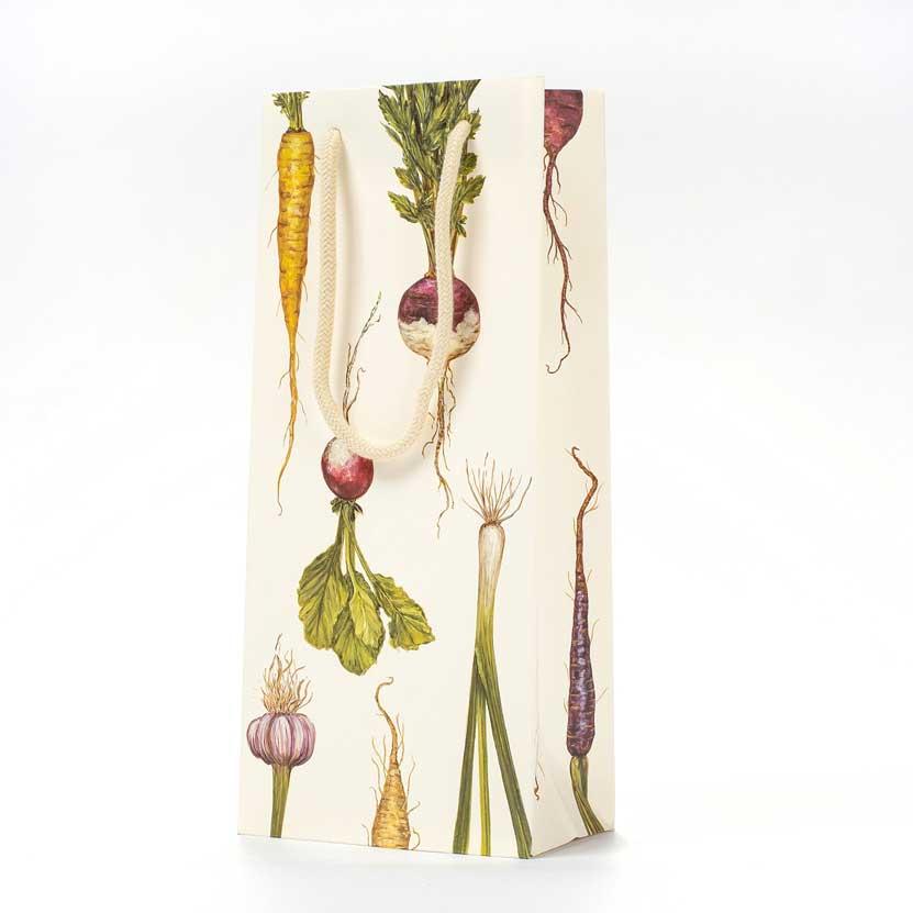 """Geschenktasche """"FARMERS MARKET WINE BAG"""" von Hester & Cook"""