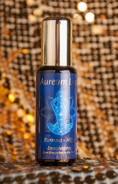 Burnout - Hilfe  - Aura Spray Serie Aureum Lux