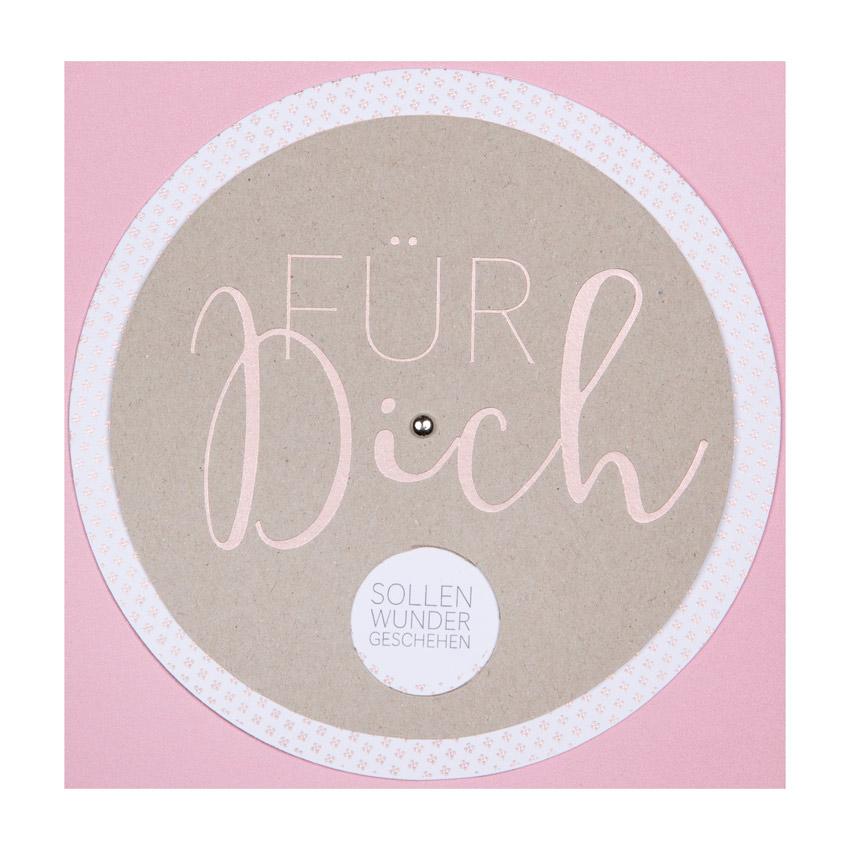 """Wunschrad Karte """"Für Dich..."""" - Papeterie von Räder"""