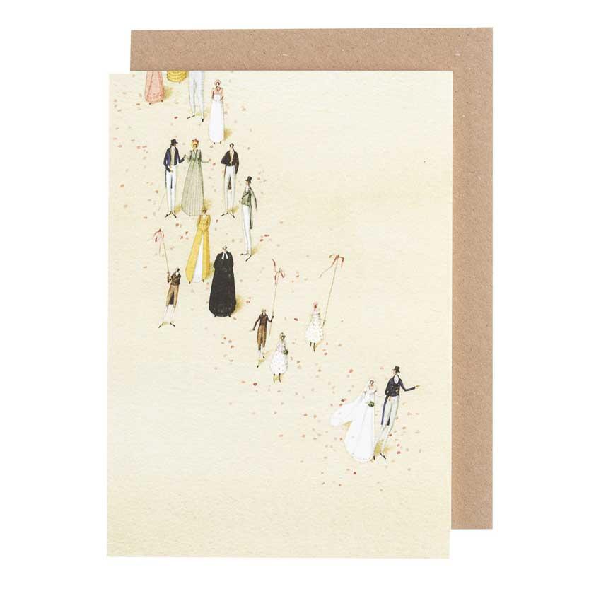 """Grußkarte """"WEDDING"""" von Laura Stoddart"""