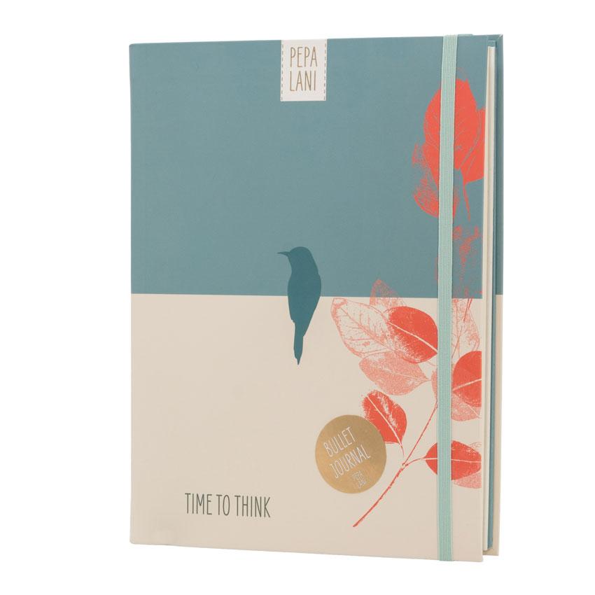 """Bullet Journal """"Bird"""", Format DIN A5 von Pepa Lani®"""